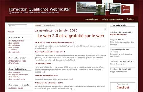 newsletter-webmaster-saliege-web2.0-gratuite