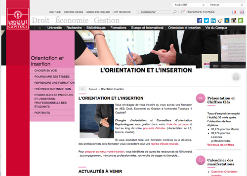 catherine dalfeur webmaster realisations site web toulouse